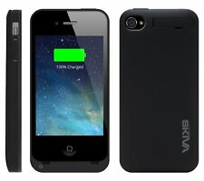 Skiva PowerSkin A4 for iPhone 4/4S Ultra thin Lightweight Battery Case (IL/SP...