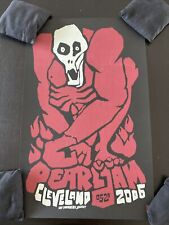 Pearl Jam Cleveland Poster