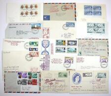 Bermuda Covers, First day covers from Collection. 1950's, 1960's.