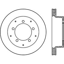 Disc Brake Rotor-C7H042 Front/Rear-Left Stoptech 126.80008CSL