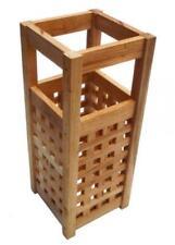 Paragüeros de madera para el hogar