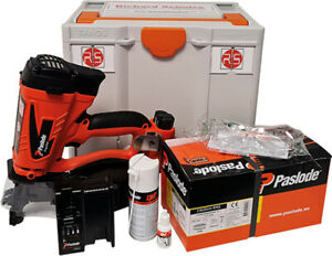 Systainer Box Nr. 40 - Systainer-Koffer mit Paslode Gasnagler IM45GN Lithium
