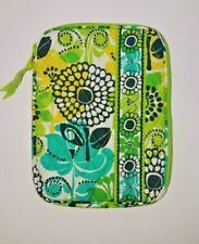 Vera Bradley E-Reader Sleeve Lime's Up  Lime Green Pattern RETIRED