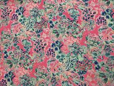 "Lilly Pulitzer Cotton Poplin Fabric Tiki Pink Gypsea Pink 180"" X 57"""