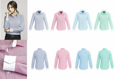 Polyester Long Sleeve Career Tops for Women