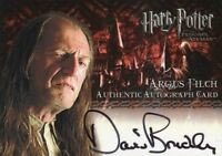 Harry Potter and the Prisoner of Azkaban Update David Bradley Autograph Card