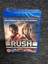 Rush [Blu-ray] Chris Hemsworth Brand New Sealed. Ron Howard. Blu Ray. Freepost