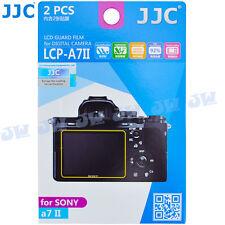 JJC LCD Guard Display Monitor Screen Protector Film For Sony A7II a7S II  a7R II