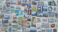 100 Different Aland Stamp Collection