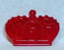 Vintage Design Plastic Cookie Cutter - Crown Princess Queen Nursery Rhyme Fairy