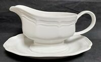 Mikasa FRENCH COUNTRYSIDE Gravy Boat & Underplate EXCELLENT!!!!!
