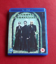 The Matrix Reloaded - UK Blu-ray - Keanu Reeves, Laurence Fishurne - Wachowskis