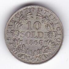 1868 Stati italiani papale xxiir 10 SOLDO *** Da collezione *** UNC ***