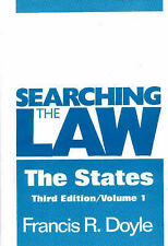 Searching the Law - the States by Francis R. Doyle (Hardback, 1999)