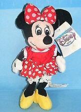 "Disney Plush Minnie Bean Bag 8"" Plush The Disney Store New with Tag Mwmt Toy"