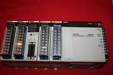 Omron C200H PLC Expansion Unit w/ PS221, (2) ID212, ID215, and (2) OD211 cards