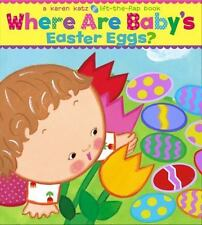 Where Are Baby's Easter Eggs? by Karen Katz - BOARD BOOK - BRAND NEW!