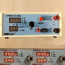 Constant Current Electronic Load 9.99A 60W 30V Battery Capacity Tester + shell