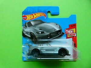 Hot Wheels Mazda MX-5 Miata (ND) in silber  OVP  HW Then And Now 2021  129/250