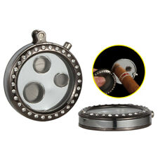 Sharp Portable Stainless Steel Cigar Punch Cutter Travel Tobacco Smoking Puncher