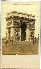 COLLIN PARIS CDV PHOTO,  ARC DE TRIOMPHE CIRCA 1860