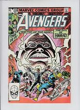 Avengers #229 NM+ 9.6/9.8 Death of Egghead