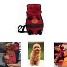 1PC Pet Dog Cat Backpack Out Carrying Bag Chest Bag Pet Four-Legged Backpack B9