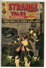 Strange Tales #138 VG+ Intro Eternity Cover pencils by Jack Kirby