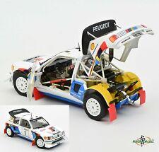 Peugeot 205 T16 #1 Rallye Monte Carlo Salonen 1986 1:18 Norev 184863