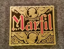 Vintage 1960s Marfil Cigarette Rolling Paper RARE Gold !