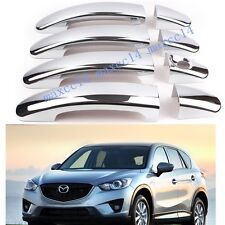 ABS Chrome Side Door Handle Cover Trim Fit For Mazda CX-5 CX5 2012 2013
