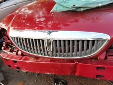 LINCOLN LS 2000 2001 2002 2003 2004 2005 2006 CHROME GRILLE DAMAGED