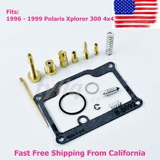 NEW Carburetor Repair Kit Carb Kit for Polaris 300 Xplorer 300 4x4 1996-1999 USA
