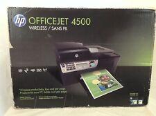 Brand New HP OfficeJet 4500 All-In-One Inkjet Printer - Factory Sealed