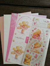 Forever Friends Bundle Stickers Decoupage Card