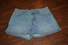 B29- Old Navy Light Wash Denim Shorts Size Girls 10
