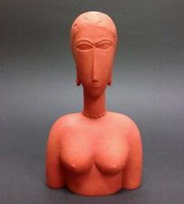 Grand buste rouge AMADEO MODIGLIANI Figur Parastone Museumsedition MO14 Skulptur