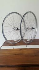 "ALEXRIMS 24"" MTB FRONT & REAR WHEEL SET"