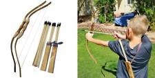 Adventure Awaits! - 2-Pack Handmade Wooden Bow and Arrow Set - 20 Wood.