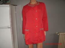 blouse nylon  nylon  kittel nylon overall N° 2695* T42