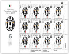 Сан Марино San Marino 2017-Juventus Campione d'Italia 2016-2017 mf