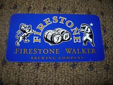 FIRESTONE WALKER Blue Union Jack STICKER decal craft beer brewery Wookey Jack