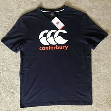 Mens, Eclipse (Navy) Canterbury T-Shirt. Size Large. Brand New with Tags E546981