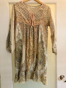 Lola Australia Hippy Smith Dress Excellent Condition Size S