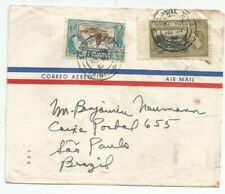 TRINIDAD TOBAGO  1954 cover sent to Brazil at $0.30 rate
