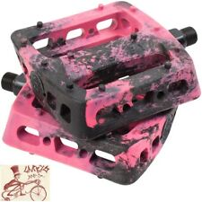 "ODYSSEY TWISTED PRO PC BLACK/PINK SWIRL 9/16"" BICYCLE PEDALS"