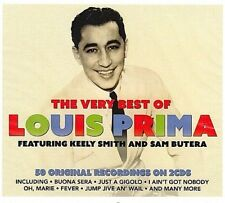 LOUIS PRIMA & KEELY SMITH : THE BEST OF 50 HITS .. 2 CD'S .. OH, MARIE .. OLDIES