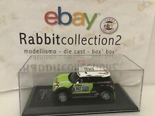 "DIE CAST "" MINI ALL4 RACING DAKAR RALLY 2013 PETERHANSEL "" DIECAST CLUB  1/43"