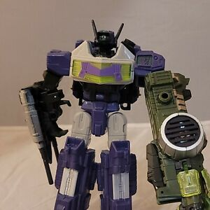 Transformers Energon Shockblast Complete Powerlinx Mega