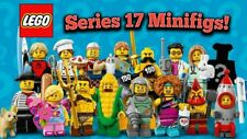SERIES 17 Lego (71018) Collectable Minifigures Factory Sealed Complete Set